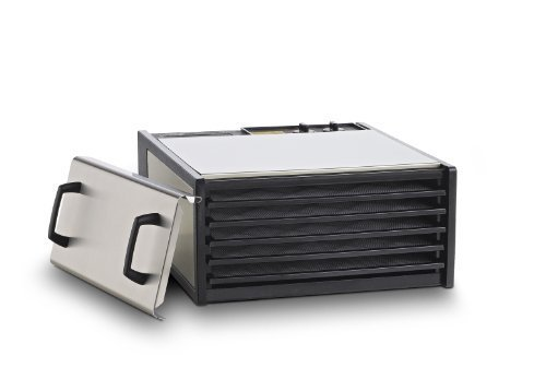 5-Tray Stainless Steel w/Plastic Trays #D500S by Excalibur Dehydrators by Excalibur