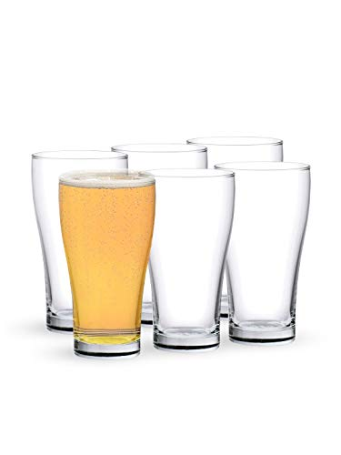 Ocean Conical Super Glass Set, 425ml, Set of 6,Transparent Price & Reviews