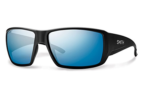 Smith Guides Choice ChromaPop+ Polarized Sunglasses, Matte Black, Blue Mirror - Guide Sunglasses