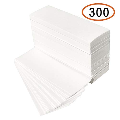 New Aroma Trees Quality Non-Woven Wax Strips - Full Body Sizes Available,Large 3 x 9-300 Wax Strips