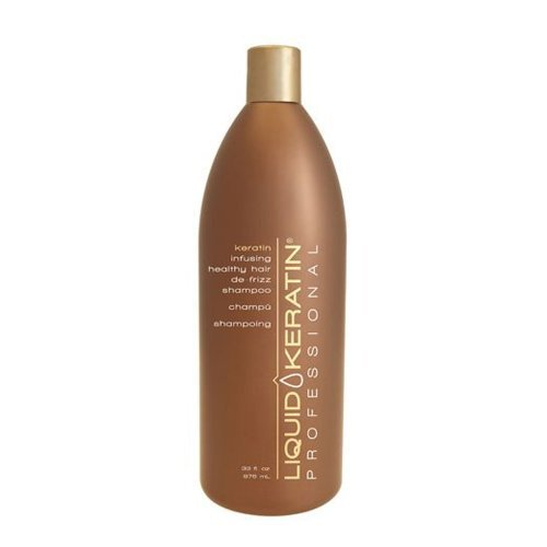 Liquid Keratin Infusing Healthy Hair De-Frizz Shampoo 33 oz