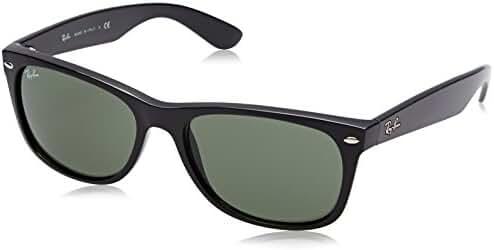 Ray-Ban Mens New Wayfarer Sunglasses (RB2132) Plastic