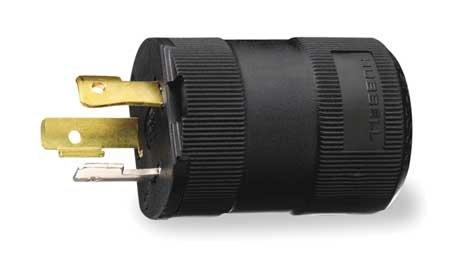 2p 15p 3w Plug (15A Locking Plug 2P 3W 277VAC L7-15P BK)
