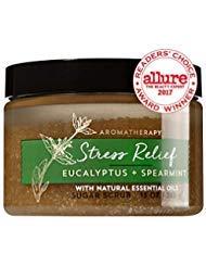 (Bath and Body Works Aromatherapy Stress Relief - Eucalyptus + Spearmint Sugar Scrub 13 Ounce)