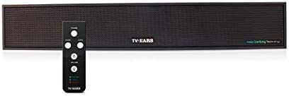 TV Ears Voice Clarifying TV Sound Bar TV Speaker System for Great Sound and Hearing TV Dialog More Clearly Compatible with Any Television Clarifying Audio System for Hearing Impaired TV Viewers