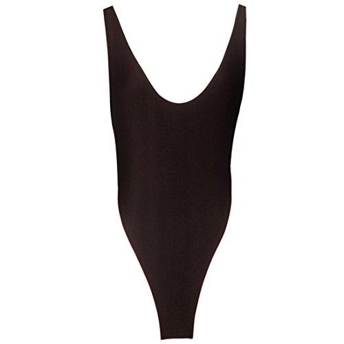 chic TiaoBug Body Lingerie Femme Bodysuit Nuisette Maillot de Corps String  Justaucorps Gym Dancewear Sous- 333cd2fd545
