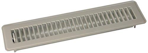 MINTCRAFT FR01-2X14W ProSource Floor Register, 2 in H X 14 in W, 2
