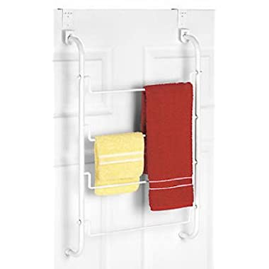 Whitmor Over The Door Towel / Drying Rack, White