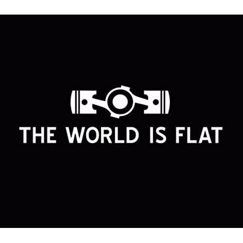 The World Is Flat Subaru Sticker Decal Car Vinyl JDM illest Stance STI  White, Die cut vinyl decal for windows, cars, trucks, tool boxes, laptops,  ...