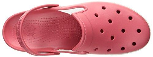 Crocs - Unisexe Citilane Clog, EUR: 34.5, Coral/White