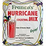 (Franco's New Orleans Style Hurricane Cocktail Mix, 9 Ounces - Makes 1 Quart (Packaging May Vary) )