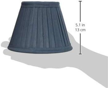 tabla estrecha color amarillo de 50 cm Better /& Best Pantalla de l/ámpara de seda