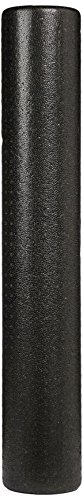 AmazonBasics High Density Round Foam Roller, Black and Speckled Colors