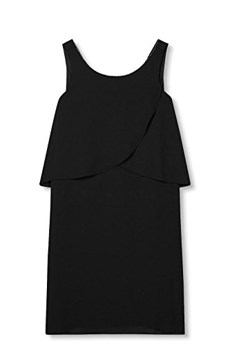 ESPRIT 001 Damen Black Collection Schwarz Kleid YHrvYq1