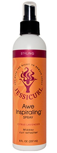Jessicurl Awe Inspiraling Spray, Citrus Lavender, Midday Curl Refresher