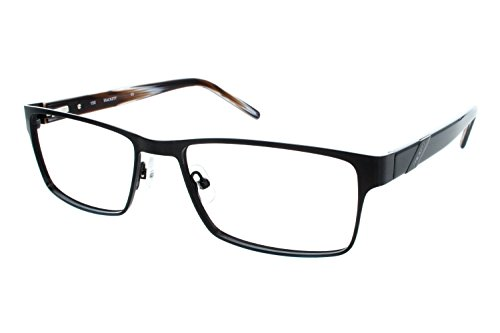 Hackett London Large Fit HEK1091 Mens Eyeglass Frames - Black