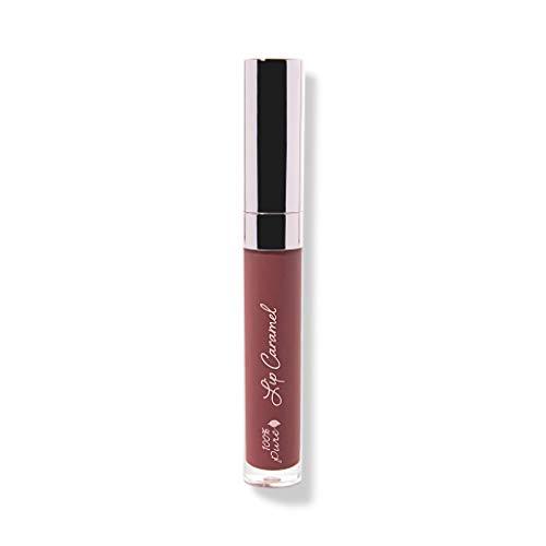 (100% PURE Lip Caramel, Truffle, Long Lasting Liquid Lipstick, Nude lipstick with Glossy Finish, Natural lipstick, Vegan Makeup - 0.177 Fl Oz)