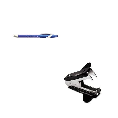KITPAP85583UNV00700 - Value Kit - Paper Mate FlexGrip Elite Ballpoint Retractable Pen (PAP85583) and Universal Jaw Style Staple Remover (UNV00700)