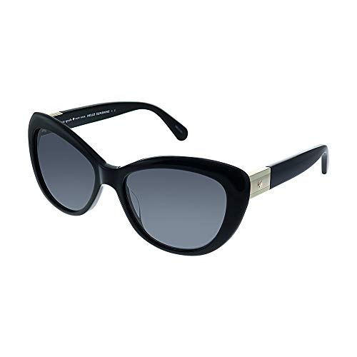 - Kate Spade New York Womens Emmalynn/S Black/Grey Polarized One Size One Size