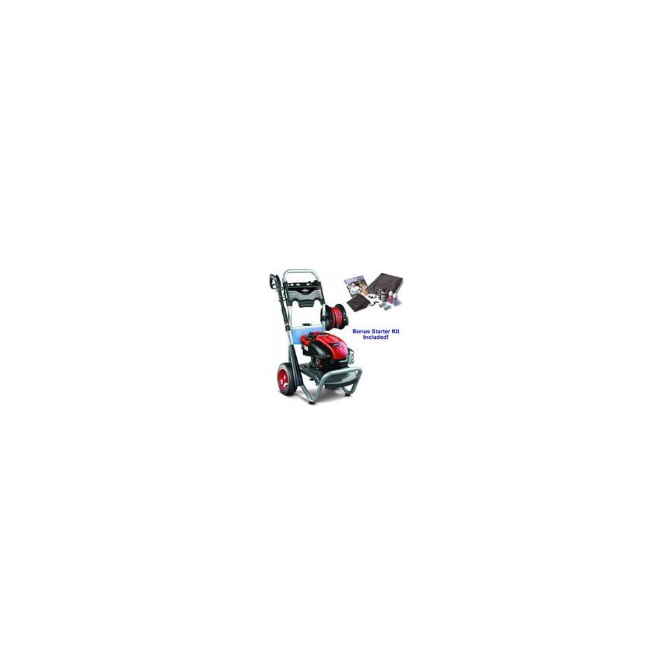 Briggs & Stratton 2700 PSI (Gas   Cold Water) Pressure Washer w/ Hose Reel & Bonus Starter Kit   20362 BONUS