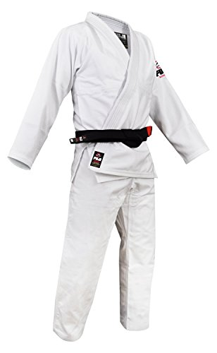 Fuji BJJ Uniform, White, A2