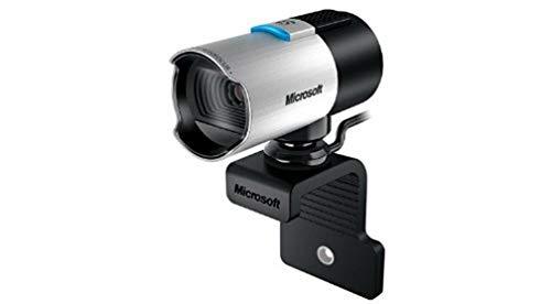 Microsoft 5WH-00002 LifeCam Studio Webcam (Business Packaging), Black, Silver