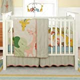 BananaFish MiGi Little Circus 3 pc Crib Set
