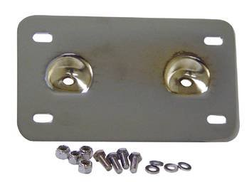 Lay Back License Plate Mount (Mid Mount Plate)