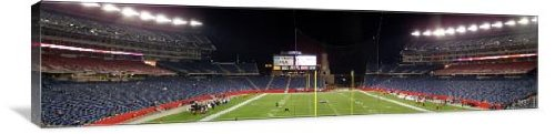 Gillette Stadium Panoramic 48