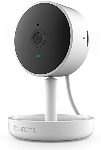 Camera for Home Security, blurams Indoor Security Cameras w/ Facial Recognition, 2-Way Talk, Smart Home Alerts, Privacy Area, Night Vision, Loud/Local Storage, Works with Alexa&Google Assistant&IFTTT