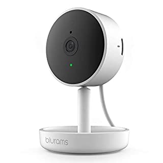 blurams Home Pro, Security Camera 1080p FHD | w/ Facial Recognition, 2-Way Talk, Human/Sound Detect, Person Alert, Privacy Area, Night Vision, Siren | Cloud/Local Storage, Works with Alexa and Google