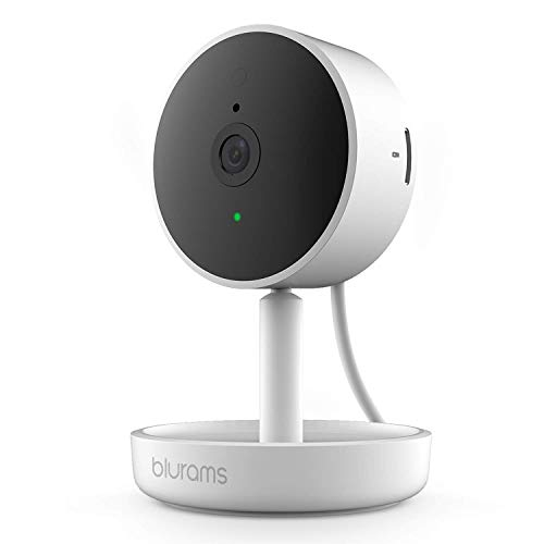 Blurams Home Pro Security Camera 1080p FHD | w/ 2-Way Audio and Siren Alarm, Smart Human/Sound Detection, Person Alerts, Night Vision | Cloud/Local Storage Available | Works with Alexa / Google Assistant