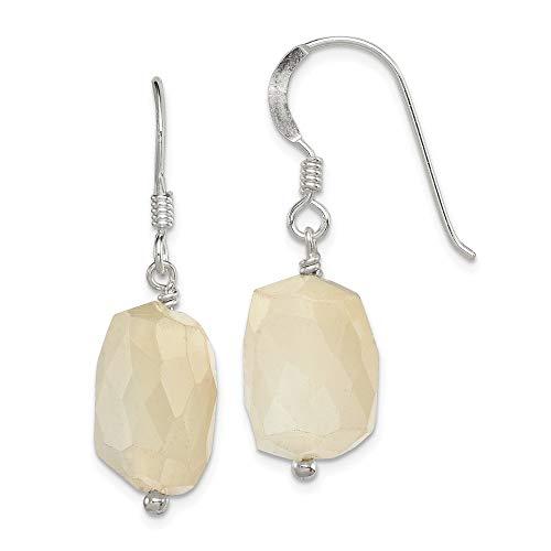 925 Sterling Silver Moonstone Drop Dangle Chandelier Earrings Fine Jewelry Gifts For Women For Her