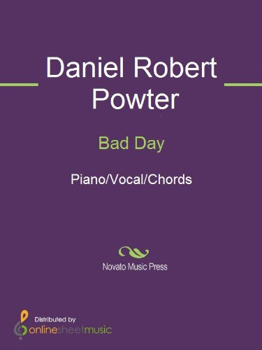 Bad Day Kindle Edition By Daniel Robert Powter Arts Photography