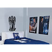 Dr. Who Inspired Weeping Angel Don't Blink Wall Decal Parody Sticker