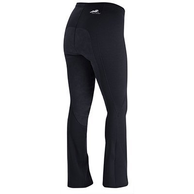 (Irideon Ladies Wind Pro Full Seat Boot Cut Riding Pants - Size:Medium Color:Blac)