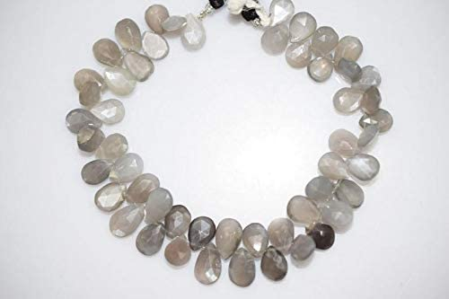 Chocolate Moonstone Pear Shape Briolettes,Brown pear shape,8/'/'pear shape strand,Chocolate Moonstone faceted Briolette,AAA Quality pear shape