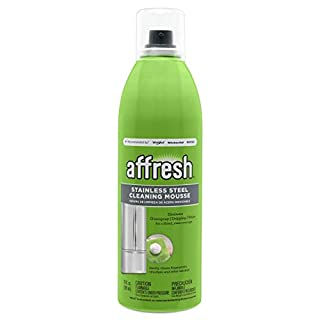 Affresh W11042466M2 Cleaning Mousse 2 Pack Stainless Steel Cleaner, 10 oz