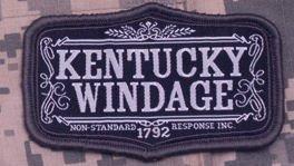 Kentucky Monkey - Kentucky Windage Morale Patch (SWAT (Black))