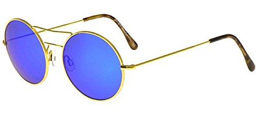 stile alla moda elegante nello stile consegna veloce Illesteva Occhiali da Sole DELON GOLD/BLUE 50/23/140 unisex ...
