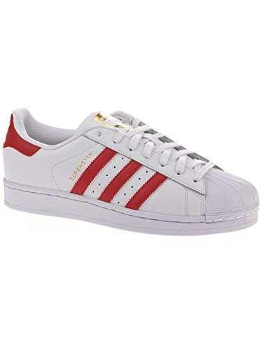 Originaux Blanc Unisexe Baskets Adidas Ii Adulte Superstar pvqPrfp