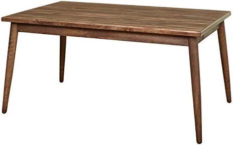 The Mezzanine Shoppe Element Mid Century Wooden Rectangular Dining Room Table, 59 , Walnut