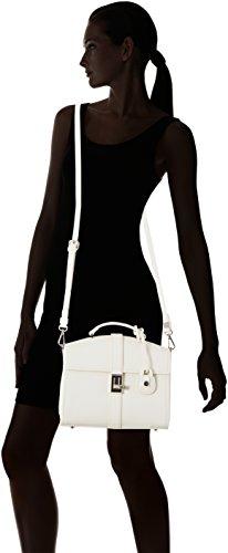 Borsa Suzanne White Cm Donna Mano 25x23x12 A Bianco Jeans off Trussardi Eq5wnCT4