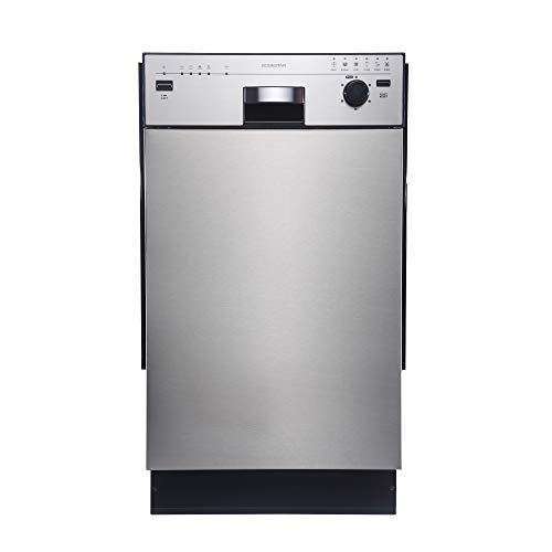 EdgeStar BIDW1801SS 18' Built-In Dishwasher - Stainless Steel