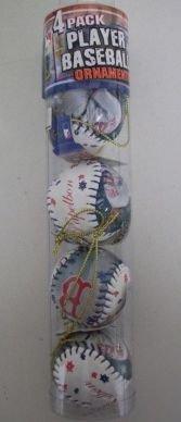 Jonathan Papelbon Red Sox MLB Player Baseball Ornaments 4 (Mlb Player Ornament)