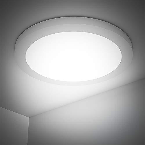 18W Plafondlamp, Badkamerlamp 4000K LED Plafondlamp 1440LM Lampen Ideaal voor Badkamer Balkon Hal Keuken Woonkamer Wit…