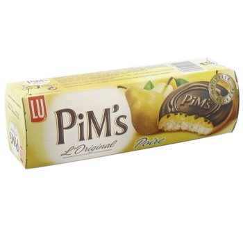 Lu Cookies Pim's Different Flavor 5.29-ounce Packages (Pear Flavor)