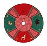 Quilted Christmas Tree Skirt - Christmas Lodge by C&F