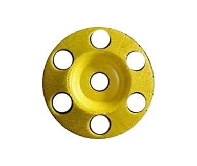 Coarse Grit 7//8 Bore 4 Flat Face Grooving Disc