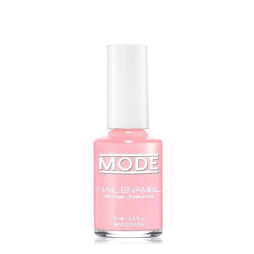 Mode Nail Enamel (Sheer Pink Peony - French Manicure Shade #174) .50 FL OZ Long Wear, High Gloss, Chip Resistant, Cruelty-Free and Vegan, Salon Nail Polish Formula Made in Beautiful NY USA